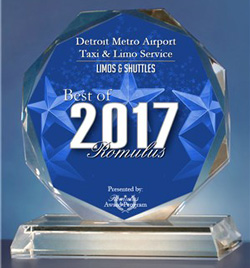 Taxi Award Best of Romulus 2017